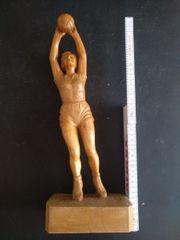 Holzfigur geschnitzt ca 1930-1945 sehr