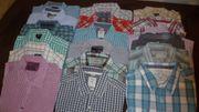 diverse Hemden lang und kurz