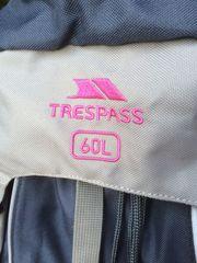 Rucksack Backpack TRESPASS 60L neuwertiger