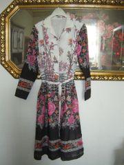 Vintage Kleid im Blütenprint Gr