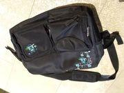 Wickeltasche schwarz gebraucht
