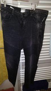 schwarze Herrenjeans jeans größe W38