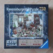Ravensburger Exit Puzzle Künstleratelier