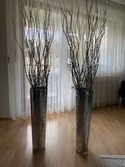 2 grosse Vasen