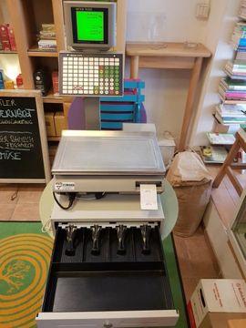 Kassensystem Kassenwaage mit Geldschublade METTLER: Kleinanzeigen aus Dornbirn - Rubrik Gastronomie, Ladeneinrichtung