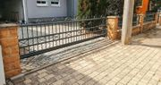 Metallzaun Aluminiumzaun aus Polen Tore