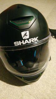 Motorradhelm Shark schwarz Gr M