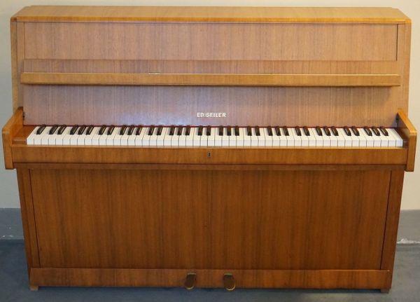 gebrauchtes Seiler Klavier - gut zum