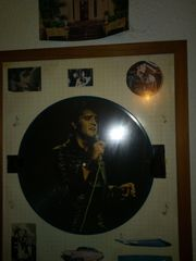 Verkaufe Elvis Ptedley Bildschallplatte