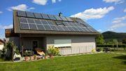 Klimafreundliches Niedrigenergiehaus