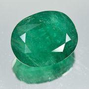 transparenter grüner Minor Smaragd 10