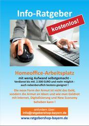 Homeoffice-Arbeitsplatz mit wenig Aufwand selbst