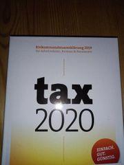 tax 2020 Software EinkommensSteuererklärung 2019
