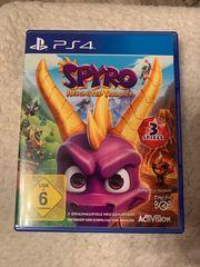 PS4 Spiele Spyro Crash