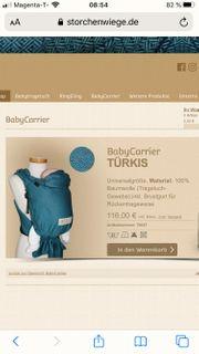 Babytrage STORCHENWIEGE