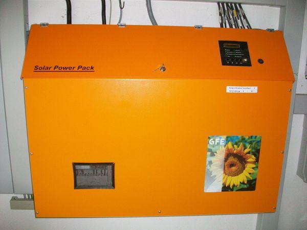 Solar-Strom-Speicher