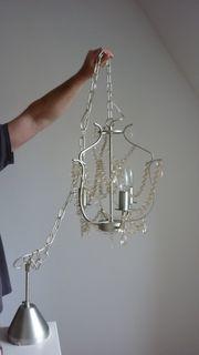 schöner Kronleuchter - 3-armig - Kristaller - Ikea