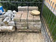 Granit Mauersteine 40x20x10cm