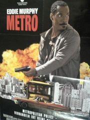 1997 Film Plakat A1 Metro