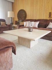 Travertin Tische Couch