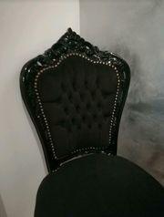 Barock Stuhl mit Tisch