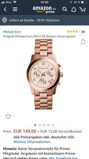 Michael Kors Damenuhr Chronograph MK5128