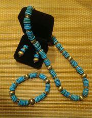 Collier Collection Veronese Türkis - ungetragen