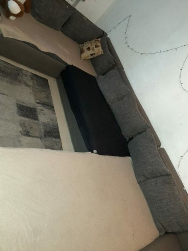 schönes u-sofa couch