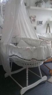 Stubenwagen Babybett Wiegenset Matratze