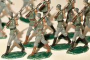 18 Stück Zinnfiguren Soldat Zinnsoldaten