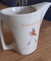Johnnie walker Krug Keramik weiß