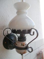Petroleum Wandlampe elektrisch