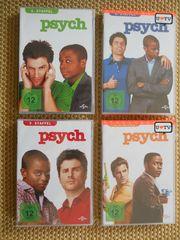 Psych DVD-Sammlung Staffel 1 bis