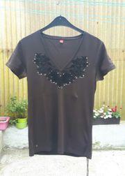 T-Shirt braun von Esprit neu