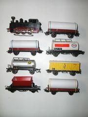 3 Märklin H0 Dampflokomotive 7