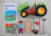 Playmobil Traktor mit Ladefläche 3074