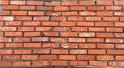 Ziegelriemchen in Rot Backsteine Mauerziegel