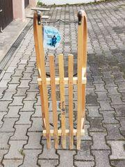 Verkaufe Davoser Holzrodel Holzschlitten 2b