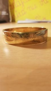 Gold armband 18k 27 gramm