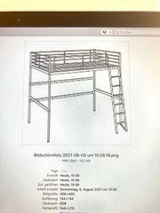 Hochbett Ikea Metall