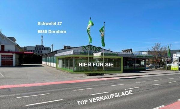 TOP Ausstellungsfläche in Dornbirn Schwefel