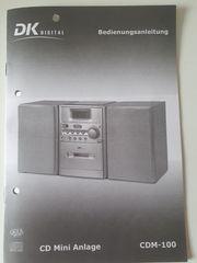 CD Mini-Anlage - CD-RADIO-KASSETTE