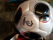 unbenutzter Fußball Ball von der