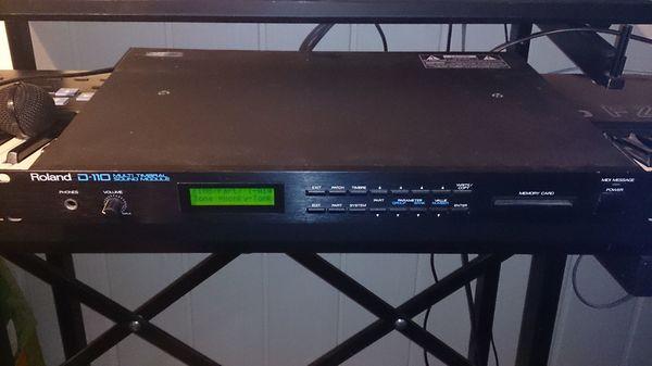 Roland D110 Synthesizer Expander von