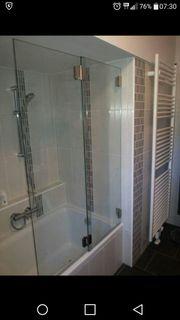 Duschtrennwand - Badewannenaufsatz
