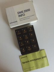 Siemens Kommunikationssystem EMS 2000 INFO
