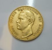 20 Mark Gold Ernst Ludwig