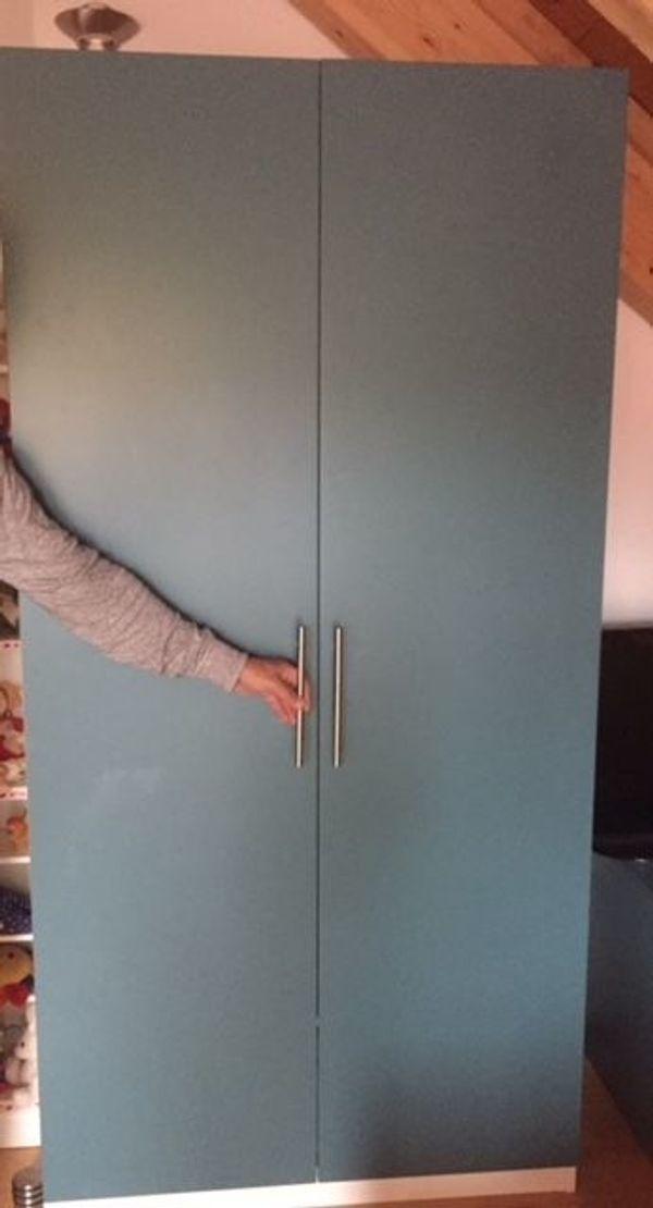 Ikea PAX - Schrank-Türen in türkisfarben
