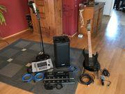 Gitarre Mixer Effekt Aktivbox Mik