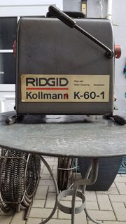 Motorspirale RIDGID Kollmann K-60-1